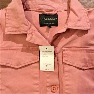 SANCTUARY Orange Pink Utility Jacket S $128